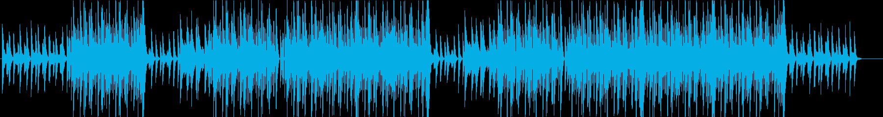 洋楽、ポップス、トラップ、ヒップホップ♪の再生済みの波形