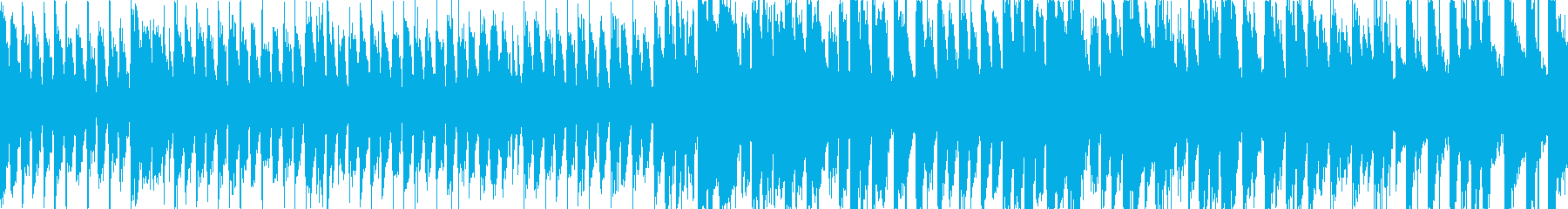 遊びに溢れたコミカルなバラエティループ曲の再生済みの波形