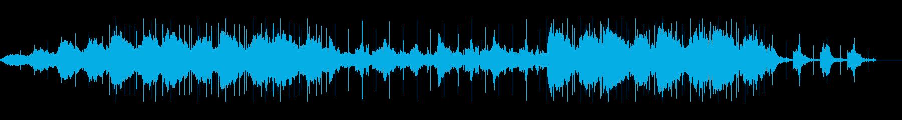 リラックスできるlofiミュージックの再生済みの波形