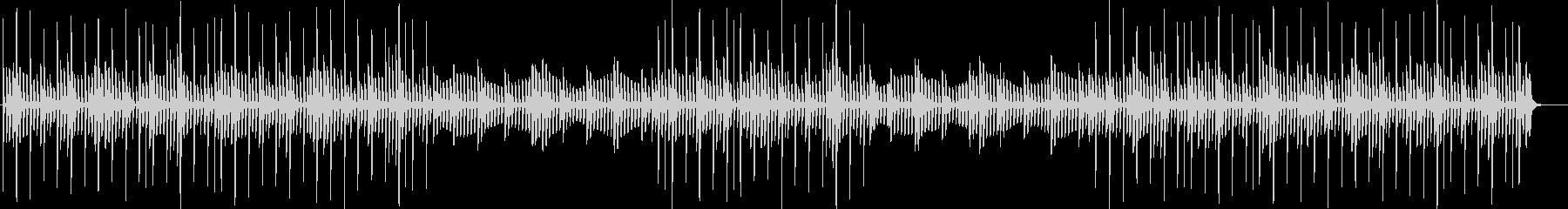 静かなヒーリングミュージック・BGMの未再生の波形
