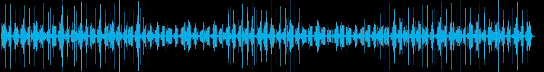 静かなヒーリングミュージック・BGMの再生済みの波形