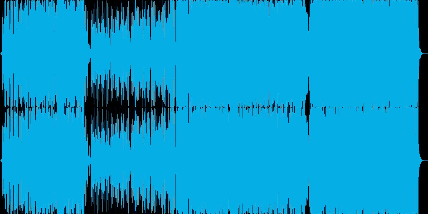 EDM+切ないロックの再生済みの波形