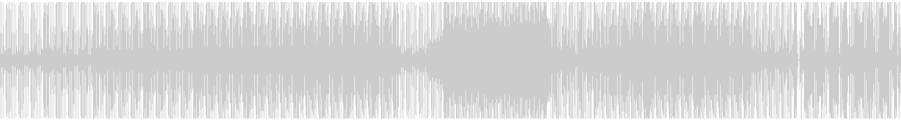 おしゃれでアナログなヒップホップの未再生の波形
