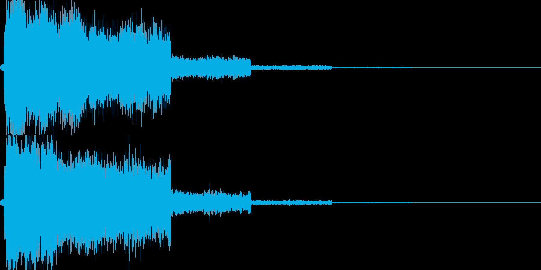 魔法14(補助・変身系)の再生済みの波形