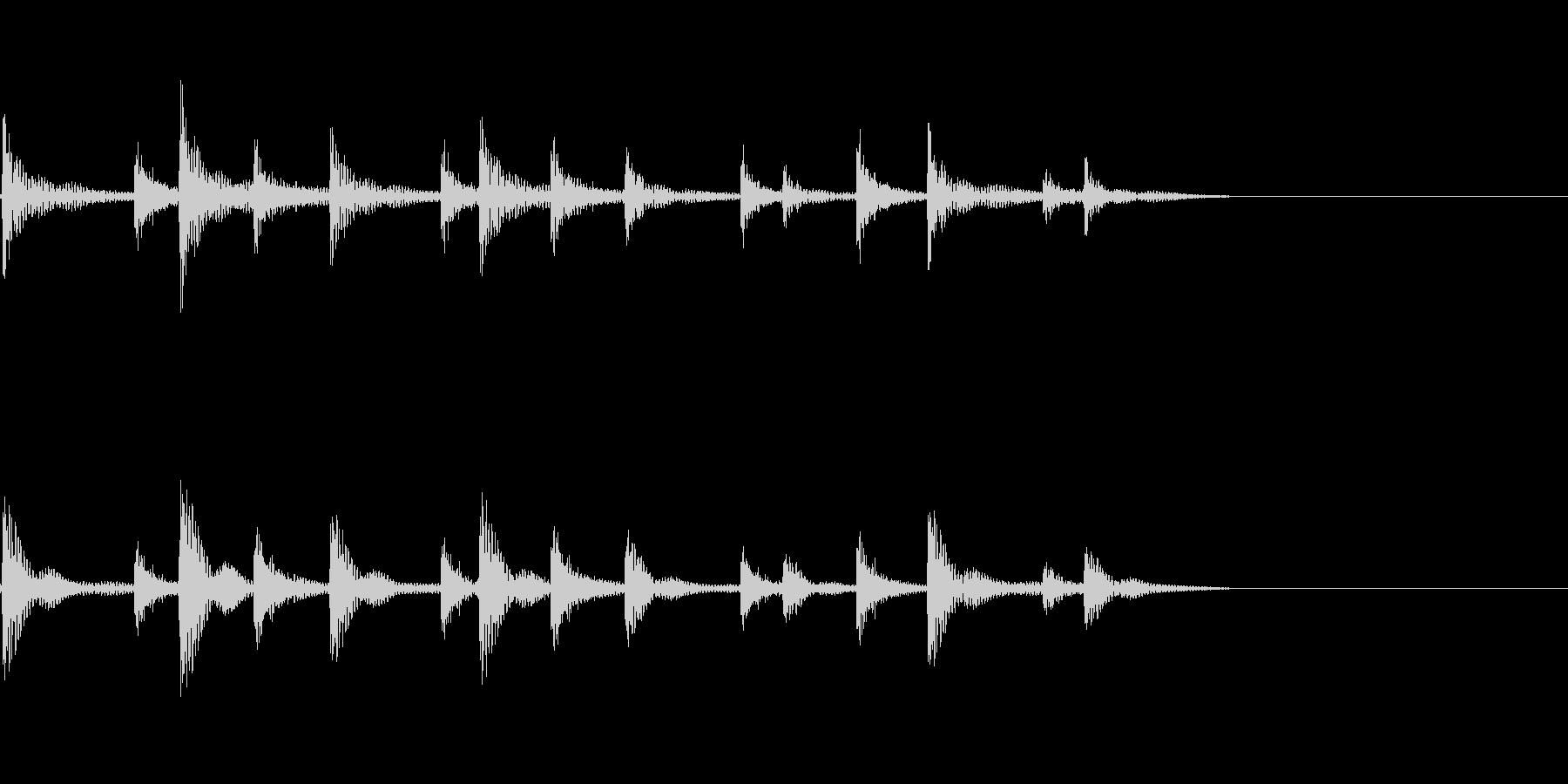 ティンパニリズム、(手つき)「オリ...の未再生の波形