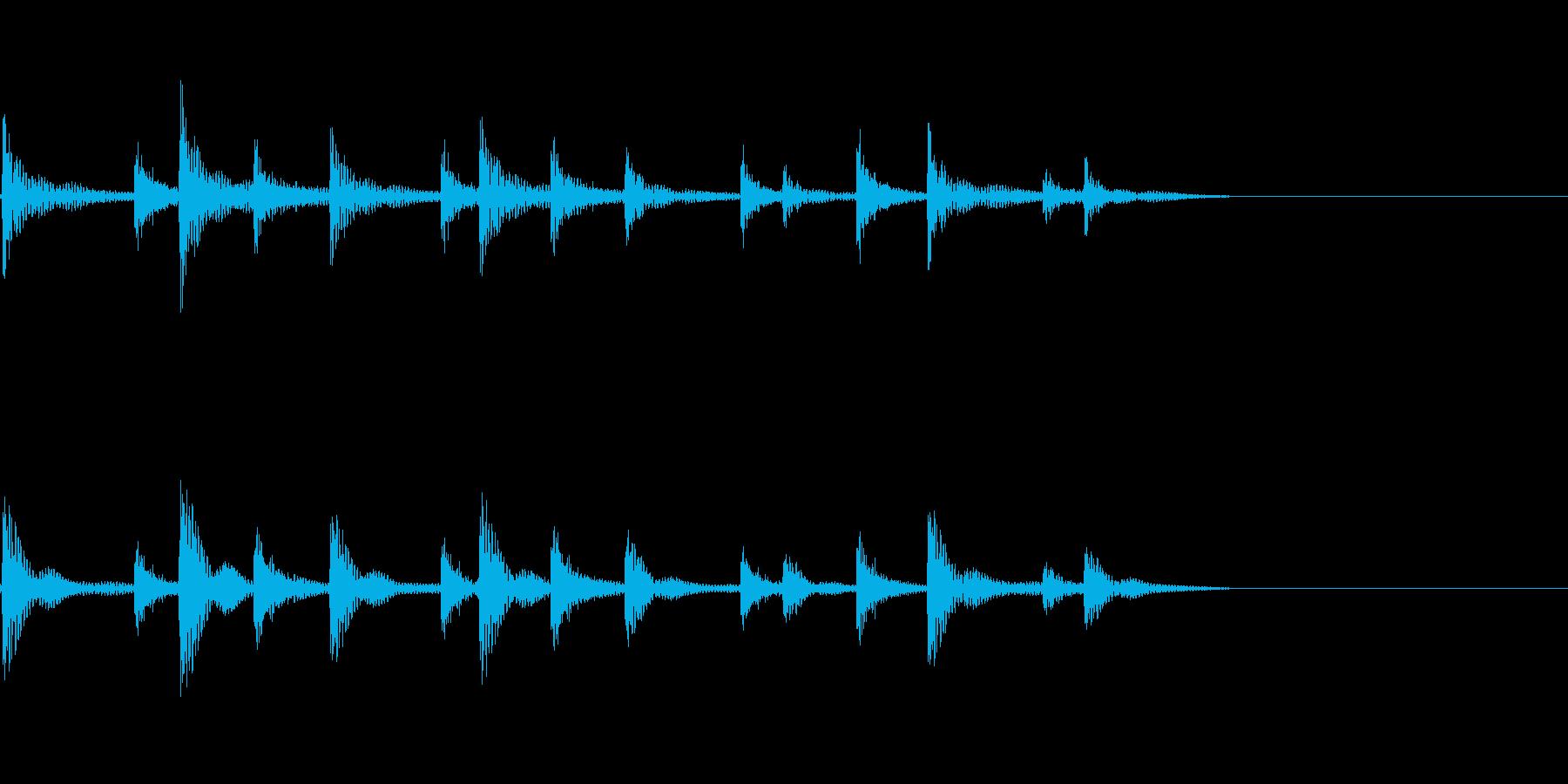ティンパニリズム、(手つき)「オリ...の再生済みの波形