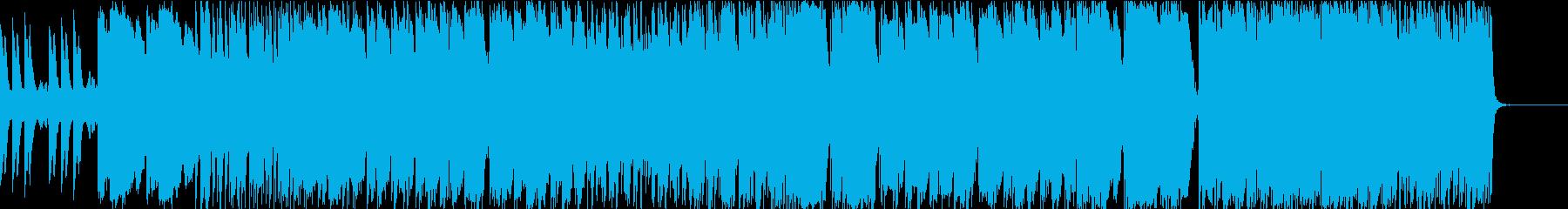 民謡で悲しい曲の再生済みの波形