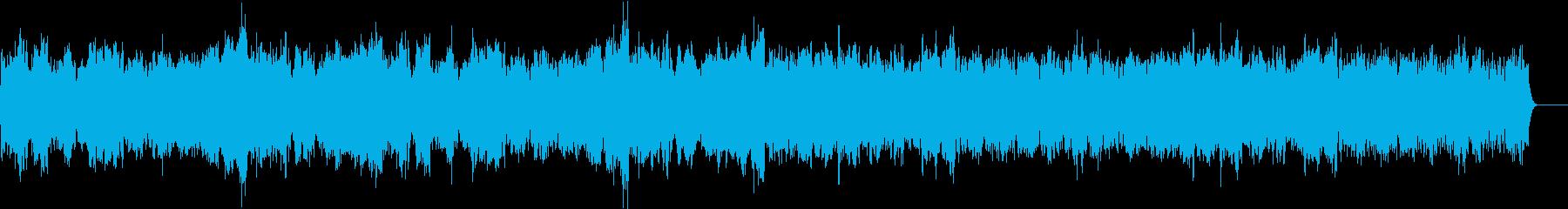 ゴルトベルク変奏曲主題部/オーケストラの再生済みの波形