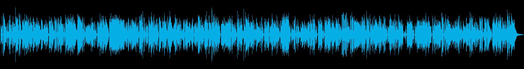 レトロで古めかしいほのぼのオールドジャズの再生済みの波形