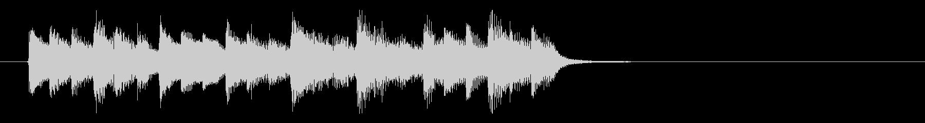 神秘的な森の中のようなBGM_ループ用1の未再生の波形