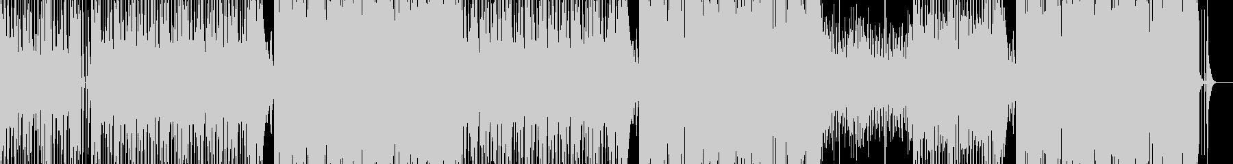 爽快でポップな笑顔溢れるBGMの未再生の波形