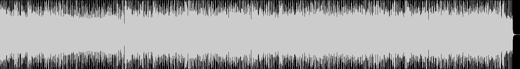 ヘビーメタル、メタリカ風リフ、三連符の未再生の波形