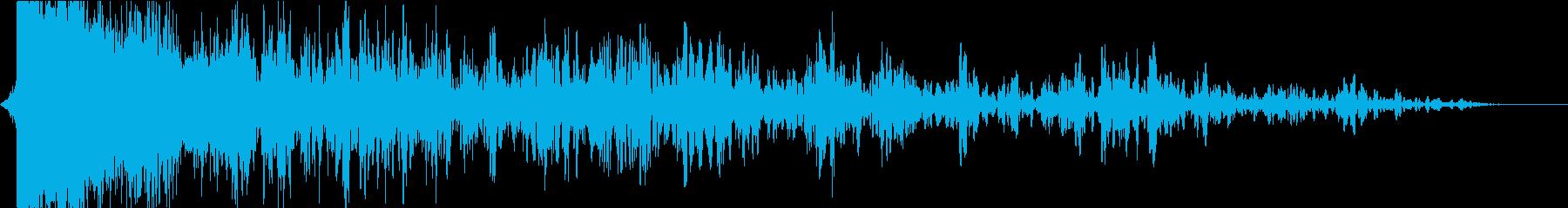雷03の再生済みの波形