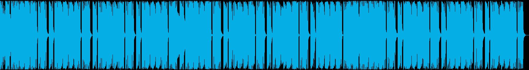 【アンビエント】ロング2、ミディアム1の再生済みの波形