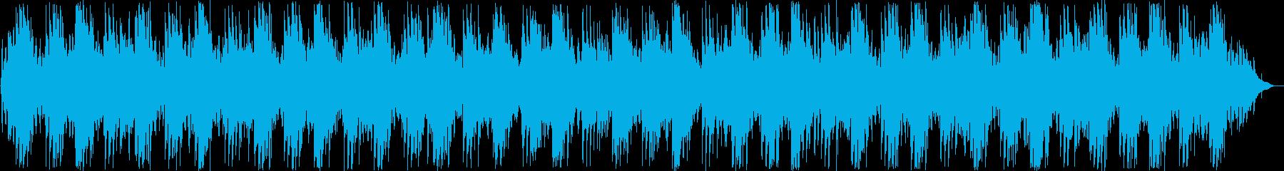 美しいシンセ・ピアノサウンドの再生済みの波形