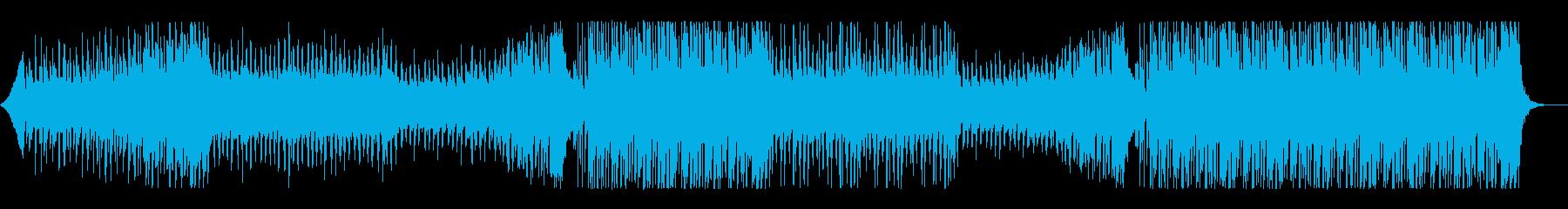 爽やかで透明感のあるトロピカルハウスの再生済みの波形