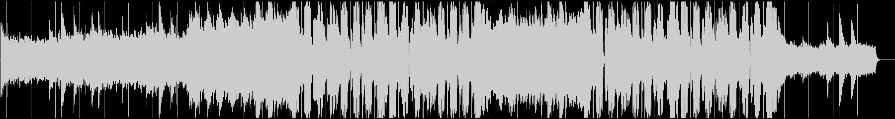 ドラマティックなフューチャーポップBGMの未再生の波形