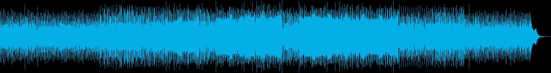 不思議な曲調ですの再生済みの波形