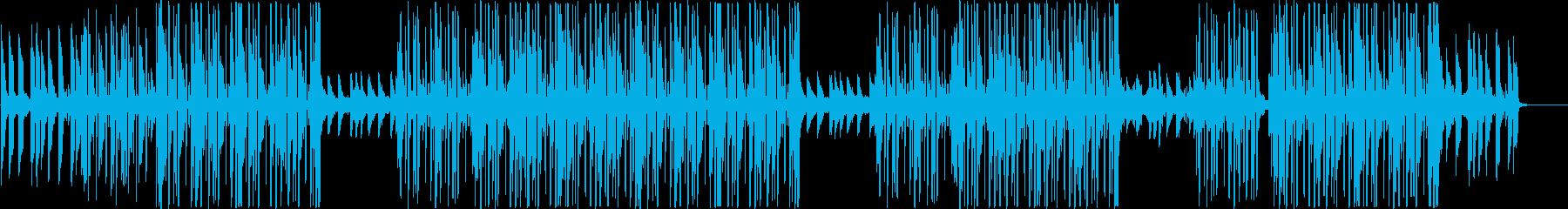 洋楽、クラブ系ヒップホップサウンド♪の再生済みの波形