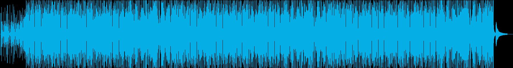 可愛くポップで元気なコンセプトムービー系の再生済みの波形