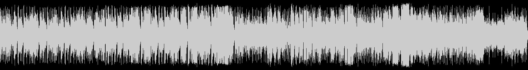 アップテンポ、笛主体の素朴なBGMループの未再生の波形