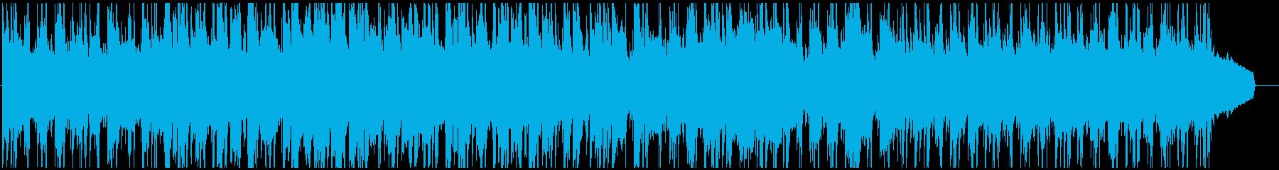 チルアウトジャジーな柔らかいHIPHOPの再生済みの波形