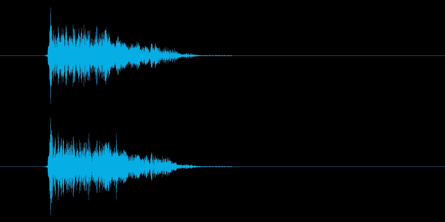 Pao!の再生済みの波形