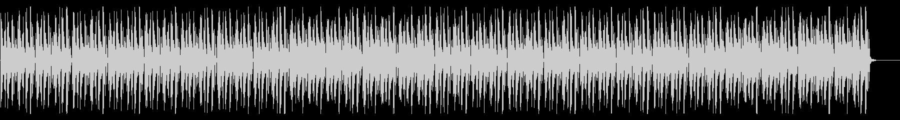 8ビット、チップチューン系の解説BGMの未再生の波形