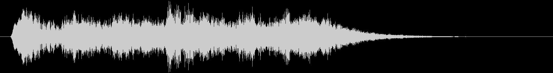 神秘な場所の音01の未再生の波形