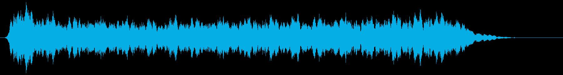 アコーディオン 不協和音(低)の再生済みの波形