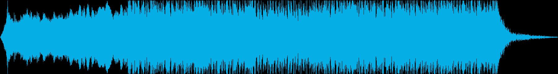 和太鼓☆緊迫感のあるBGMの再生済みの波形