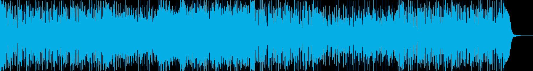ちょっと速めのスウィングジャズの再生済みの波形