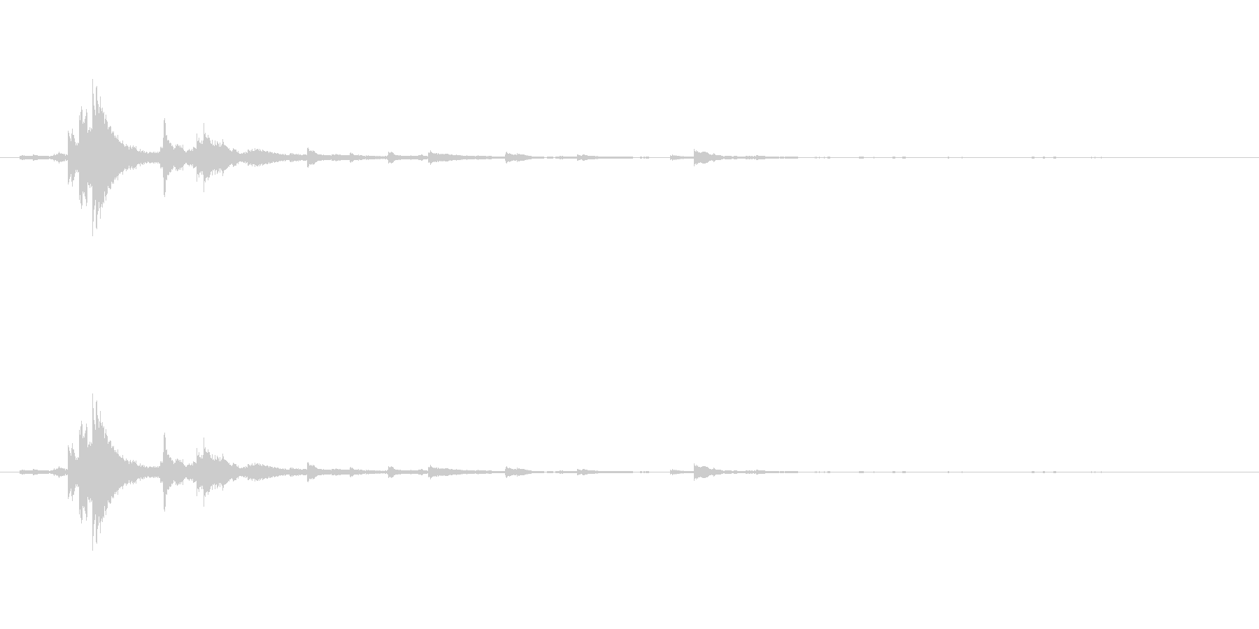 メタル ウィンドベルリンギング02の未再生の波形