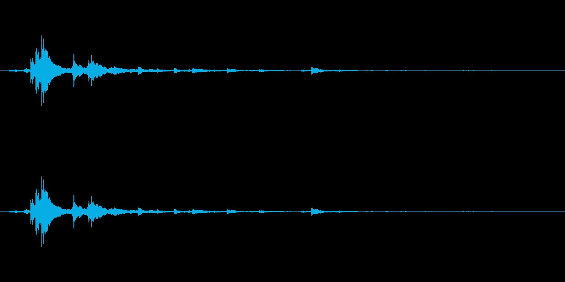 メタル ウィンドベルリンギング02の再生済みの波形
