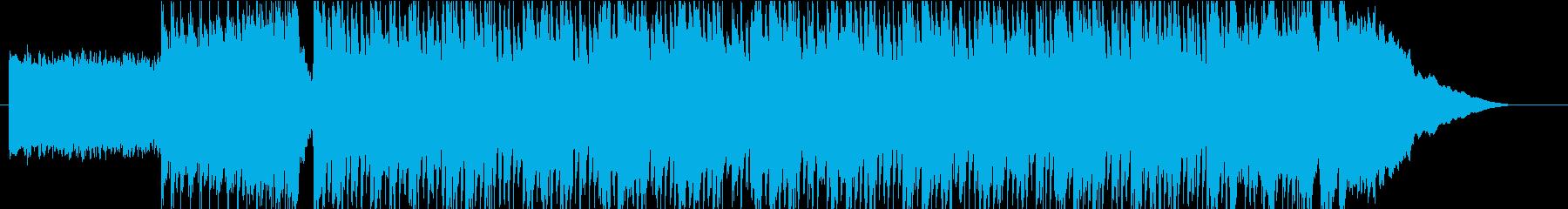 YouTubeのオープニングBGMに最適の再生済みの波形
