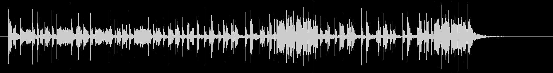 勢いのあるシンセパターン C− の未再生の波形