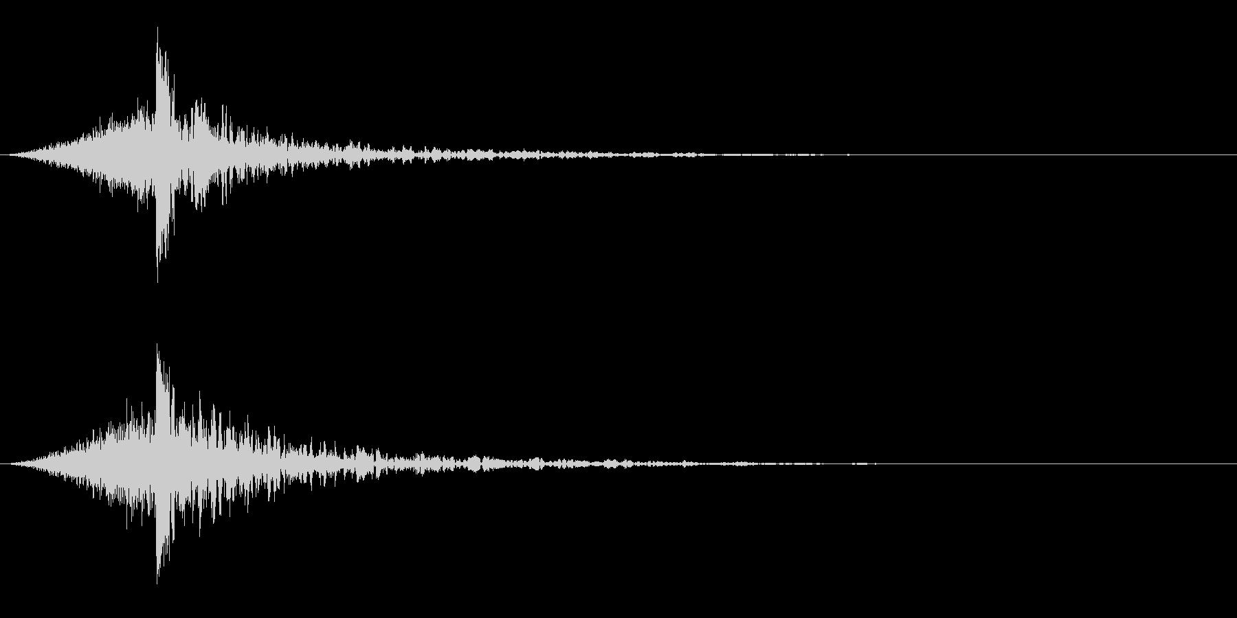 シュードーン-60-4(インパクト音)の未再生の波形