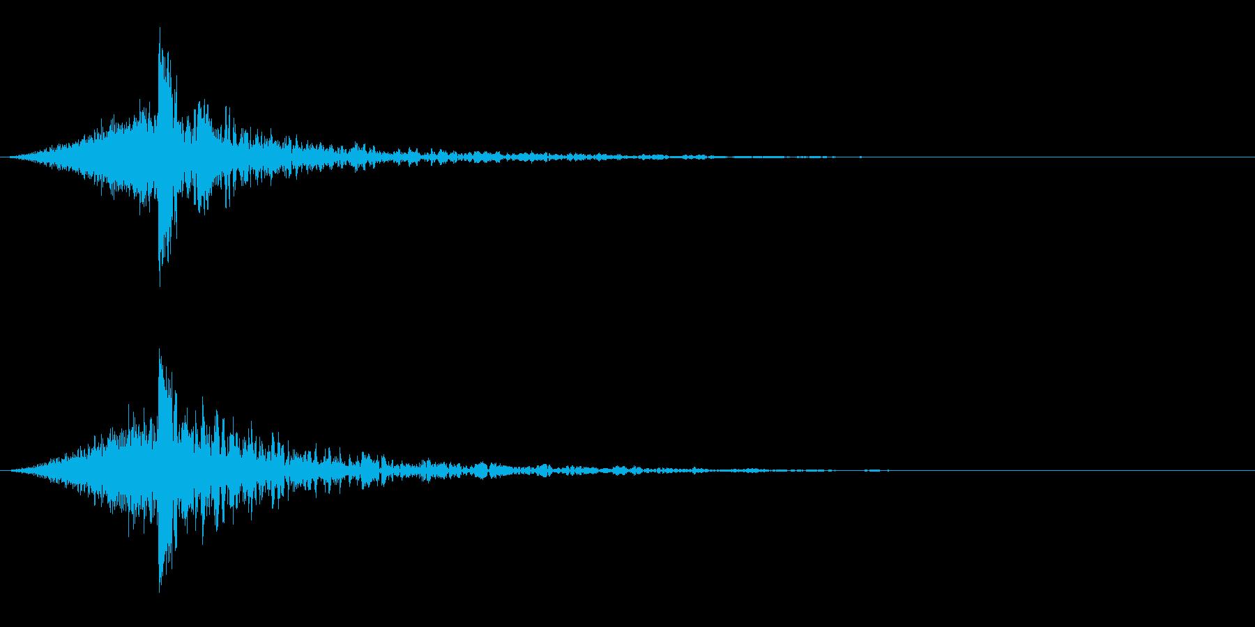 シュードーン-60-4(インパクト音)の再生済みの波形