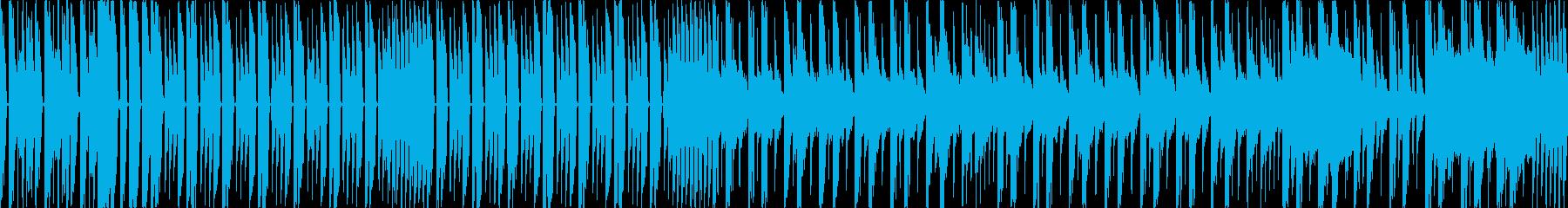 ビートの効いたオシャレインストの再生済みの波形