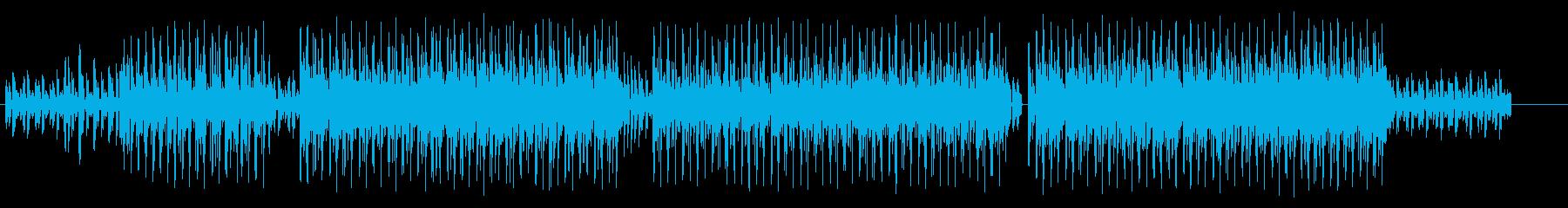 トリップする幻想的なクラブ系テクノハウスの再生済みの波形