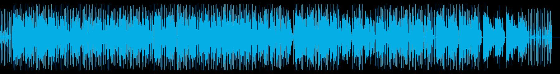 都会的でクール・メロウなソウル~ファンクの再生済みの波形