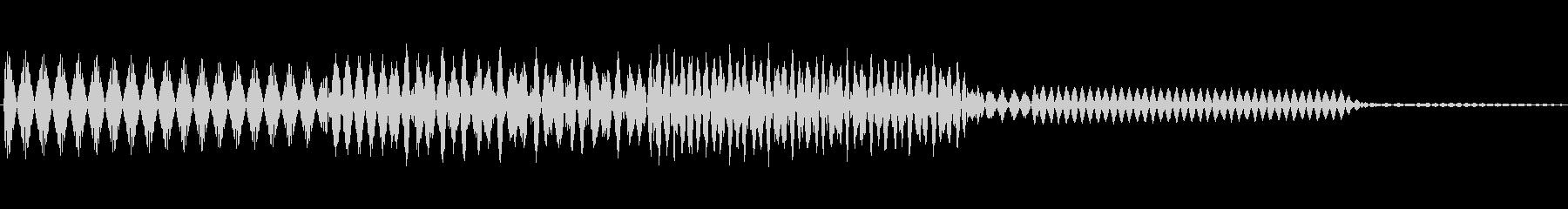 ボタン決定音システム選択タッチ登録C12の未再生の波形