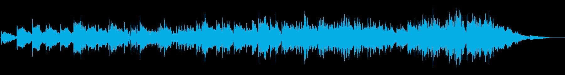 落ち着きのある オルゴール ポップの再生済みの波形