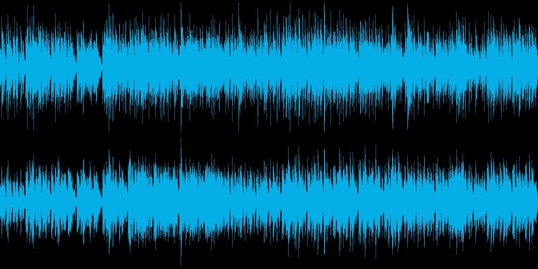 日常・生活 のんびりハーモニカ・ループ版の再生済みの波形