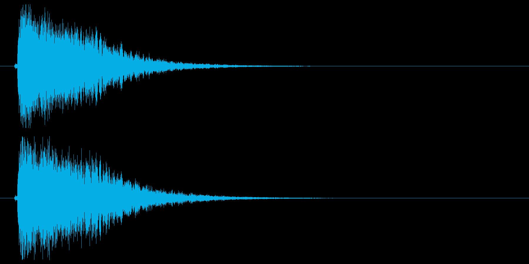 インパクト_キメの再生済みの波形