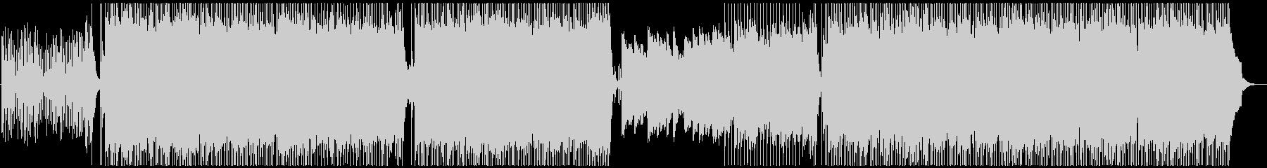 ロック、ポップス系エレキギターの未再生の波形