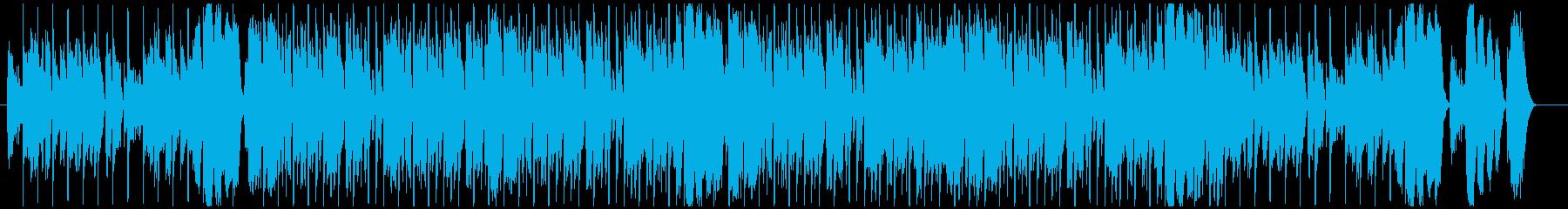 ラテンビート、エッジの効いたエレキ...の再生済みの波形