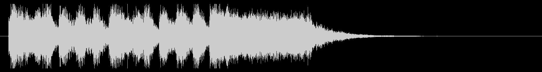 ファンファーレ01の未再生の波形