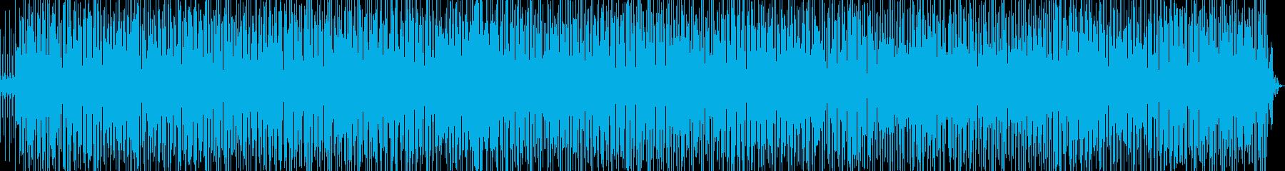 軽快なラテンファンク Ver.2-1の再生済みの波形
