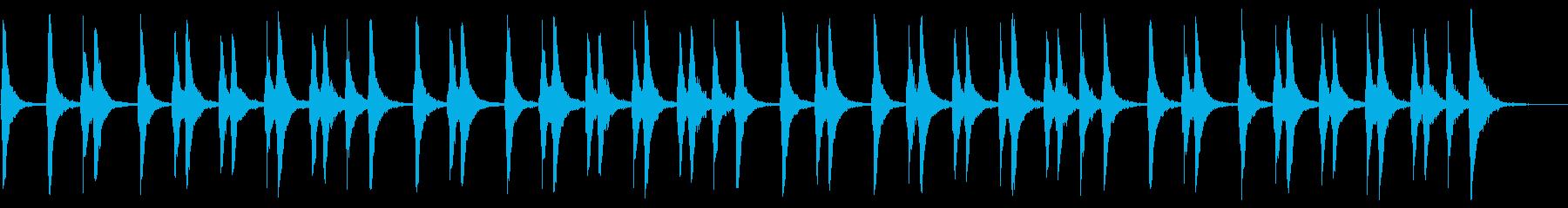VPや店舗のBGMとして最適の再生済みの波形